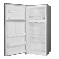 Counter Depth Reversible 2 Door Refrigerator Top Freezer Fri