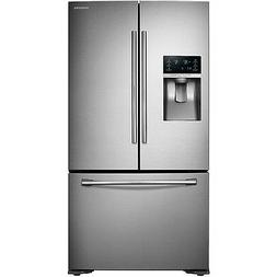 SAMSUNG 23 Stainless Steel French Door Counter Depth Refrige