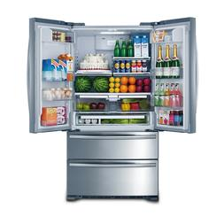 cabinet depth french door refrigerator stainless steel