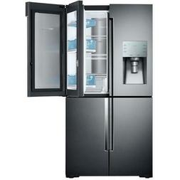 Samsung Flex 22-cu ft 4-Door Counter-Depth French Door Refri