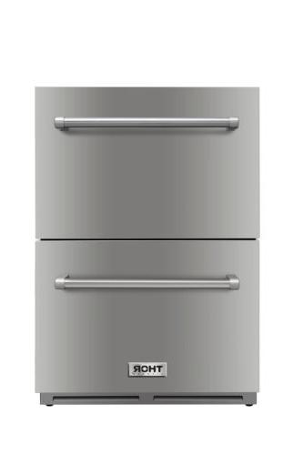 Thor Kitchen Double Drawer Counter