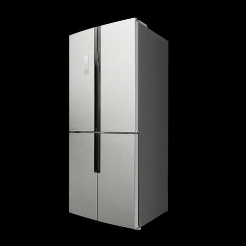 Lycan 31''Stainless Depth 4-Door French Refrigerator