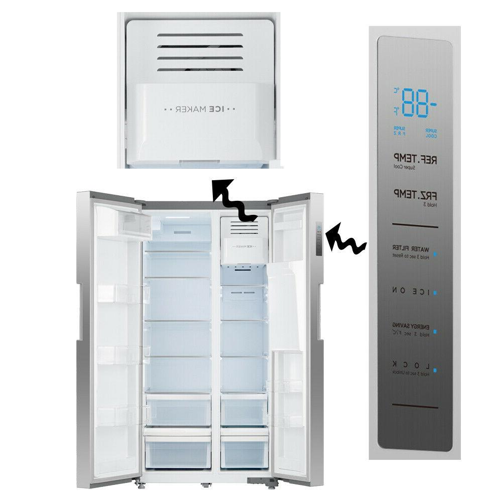 SMAD Inch Counter Side Side Refrigerator