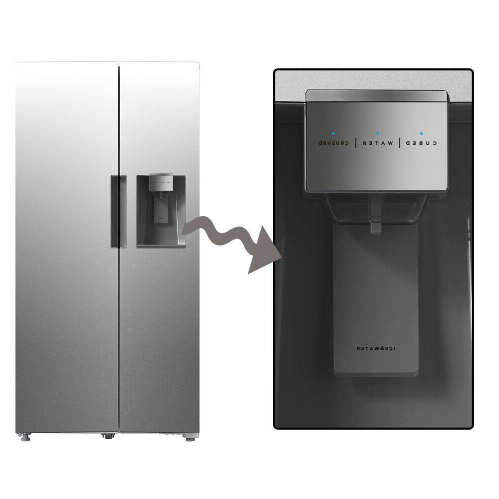 SMAD Counter Side by Side Refrigerator