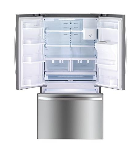 Kenmore cu.ft. French Refrigerator with Bottom-Freezer, includes delivery and hookup