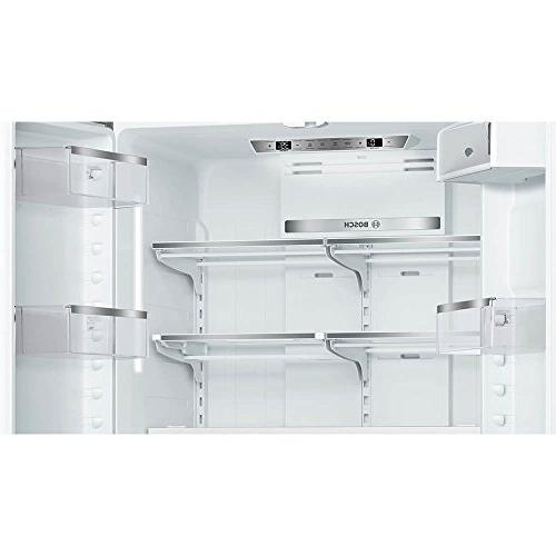 Bosch B21CT80SNS 800 Series 36 French Door Refrigerator in Stainless Steel