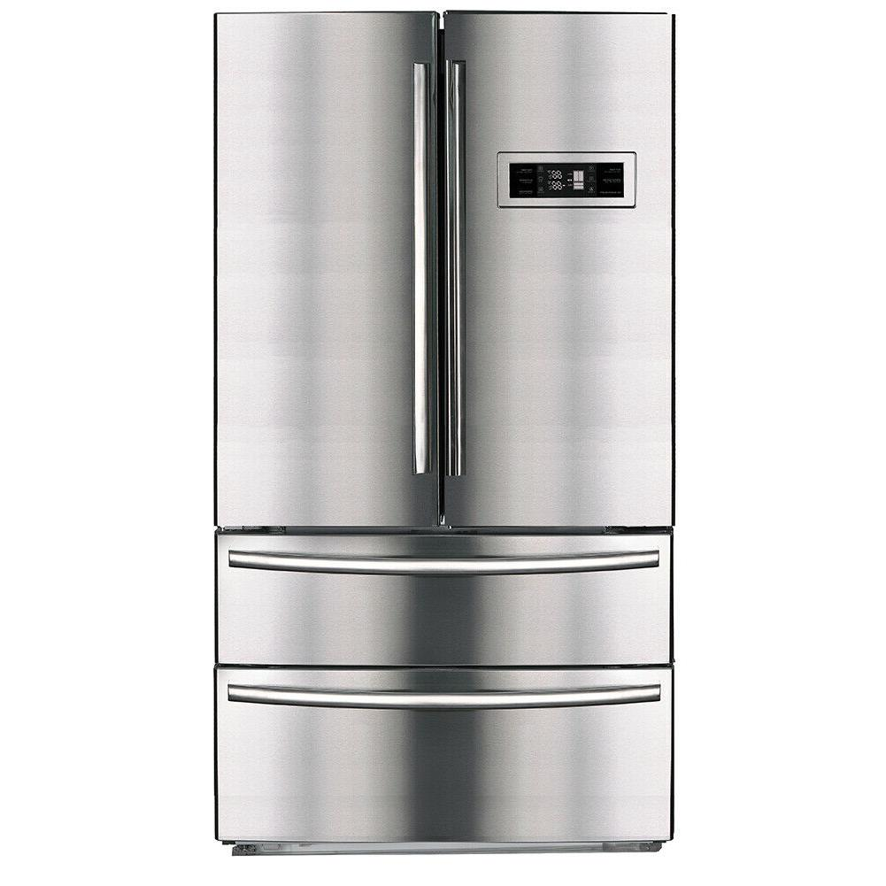 21 cu ft french door refrigerator stainless