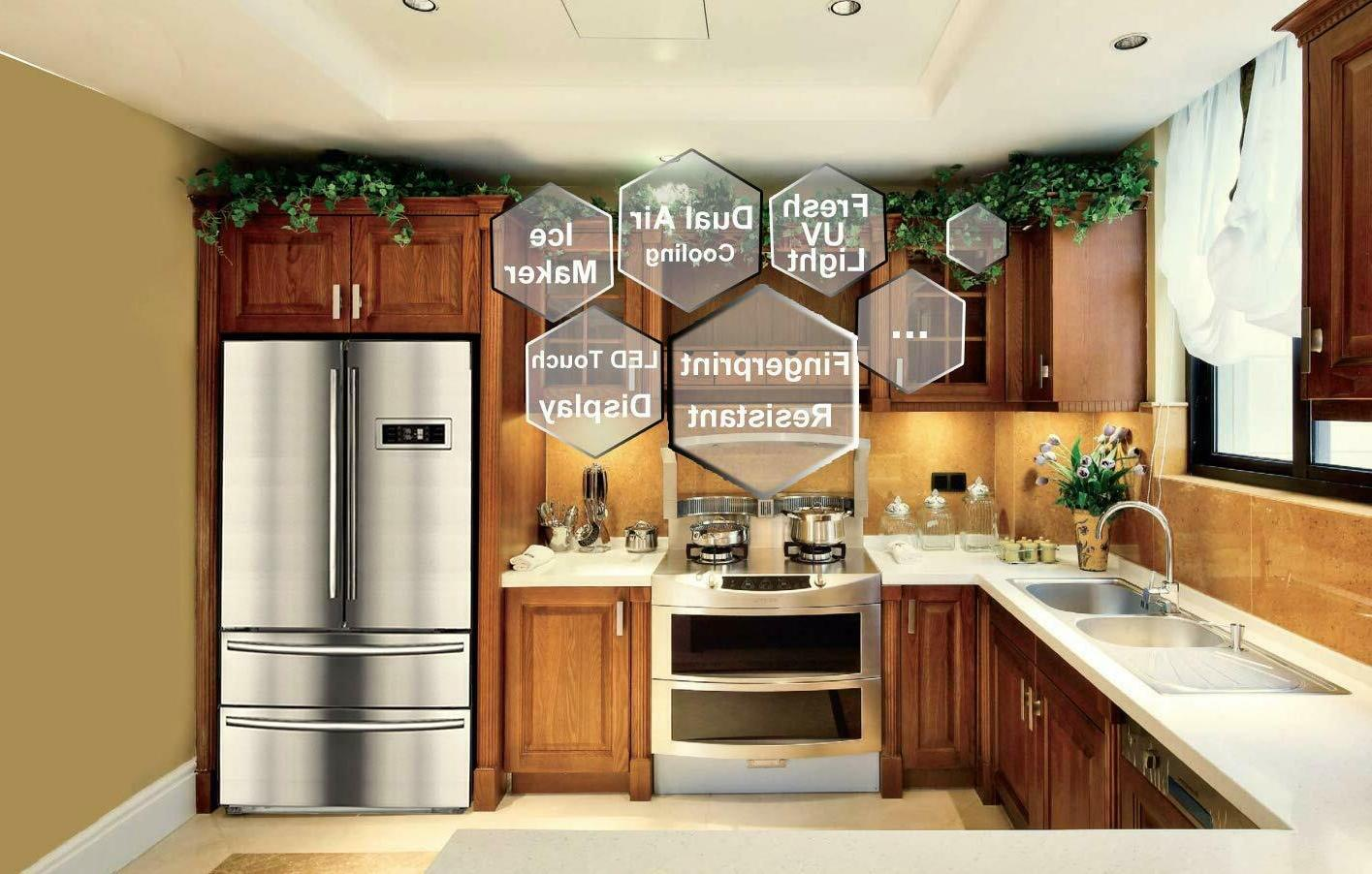Counter Refrigerator Side-by-Side 20.7 cu ft