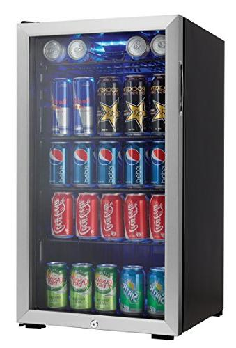 Danby Beverage Center with 3.3 Ft. Capacity 120 Capacity