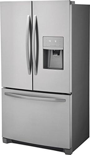Counter Depth French Door Refrigerator 22.5 ft. Stainless