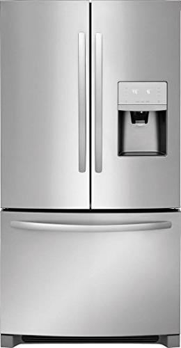 Frigidaire FFHD2250TS 36 Inch Refrigerator 22.5 cu. ft. Total Capacity, Stainless
