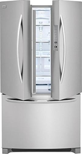 Frigidaire Series 36 Inch Depth Side Refrigerator with ft. Capacity, Steel