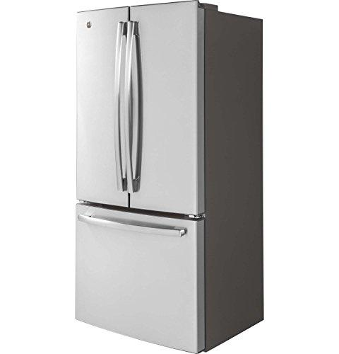 "GE GWE19JSLSS 33"" Counter French Refrigerator with Stainless"