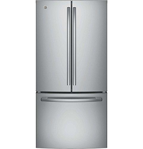 GE Counter Door Refrigerator with ft. Stainless