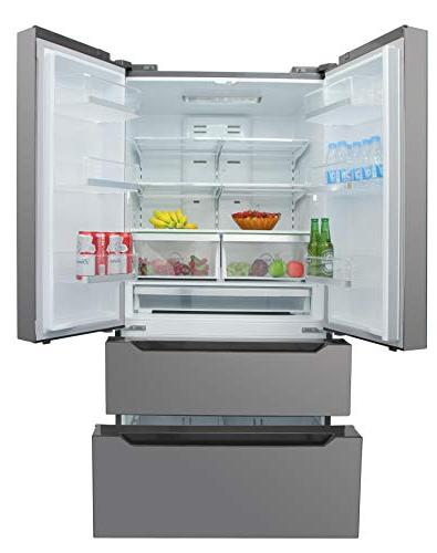 Thor Steel, Automatic Ice-maker, Wide Refrigerator with Depth