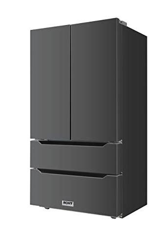 Thor 36inch Black Steel with Automatic Ice-maker, Depth French