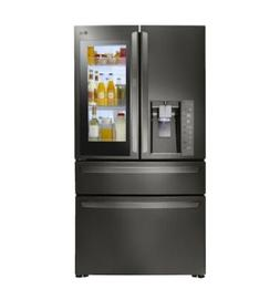 LG LMXC23796D 23 cu. ft. Black Stainless InstaView 4-Door Fr