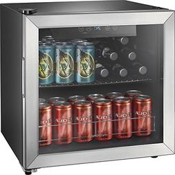 Insignia NS-BC48SS7-48-Can Beverage Cooler - Stainless Steel