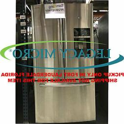 Samsung RF23HTEDBSR 22.5CF French Door Refrigerator Counter