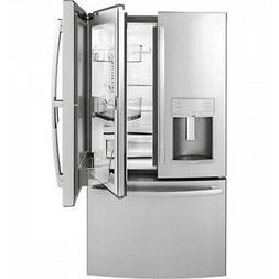 GE Profile Stainless Steel Counter-Depth French-Door Refrige