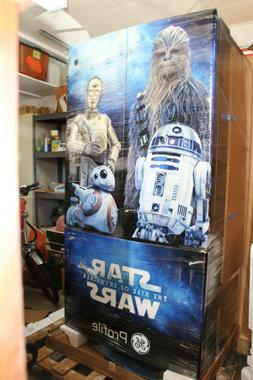 """STAR WARS GE Profile Limited Edition Refrigerator 36"""" Coun"""